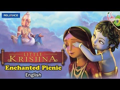 little krishna english episode 4 enchanted picnic