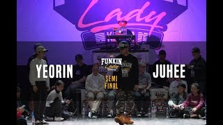 Yeorin vs Juhee – Funkin'lady KOREA 2018 Top4