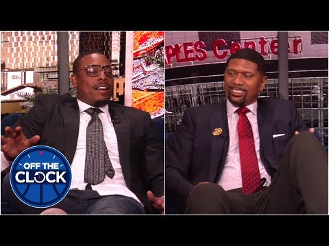 Who'd you grow up hating in the NBA? Paul, Jalen, Beadle and Chauncey have answers. | Off the Clock