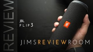 JBL FLIP 3 Bluetooth Speaker - REVIEW