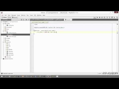 Video PHP MVC Tutorial for beginners. Lecture 4 of 16 download in MP3, 3GP, MP4, WEBM, AVI, FLV January 2017