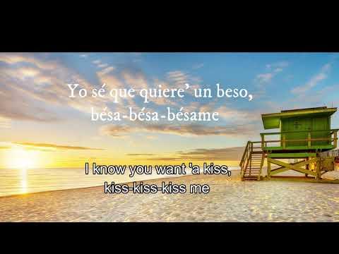 Luis Fonsi, Myke Towers - Bésame (Subtitle: English) suscribete❤👍
