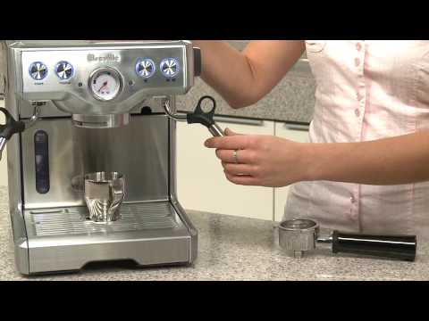 Breville — Tips and Tricks: Die-Cast Espresso Machines BES820XL 800ESXL