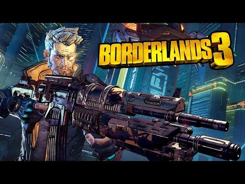 Borderlands 3 - Official Zane High Level Co-Op Gameplay & Boss Fight Reveal Demo