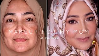 Video Makeup-in Mama!! (Full Coverage Complexion for Mature Skin) MP3, 3GP, MP4, WEBM, AVI, FLV Mei 2018
