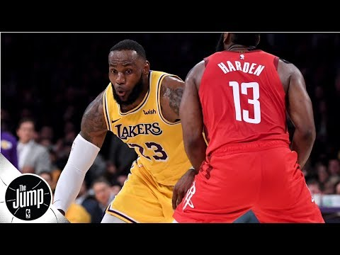 Video: The Lakers' season comes down to LeBron being great – Brian Windhorst | The Jump