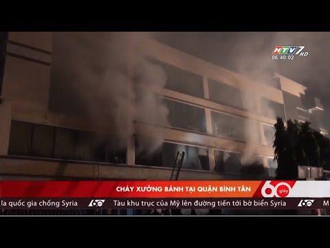 60 Giây - Ngày 11/04/2018 - Tin Tức Mới Nhất - Cháy Lớn Tại Bình Tân