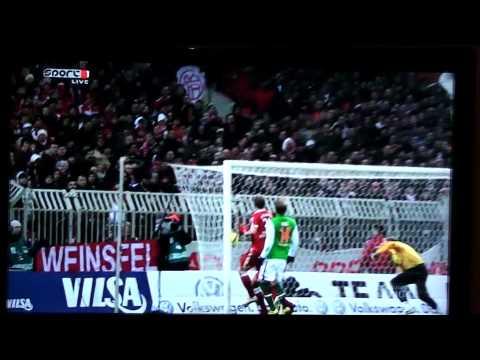 Maravilloso Gol de Robben al Werder Bremen