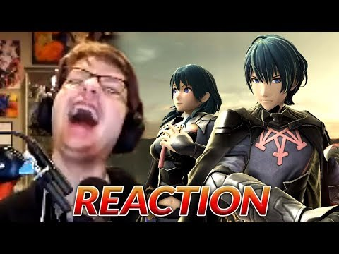 PEOPLE WILL BE PISSED...NOT ME! - Nico Reacts: Byleth Super Smash Reveal!