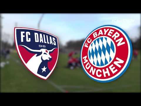 FC Dallas Homegrowns Train with FC Bayern.
