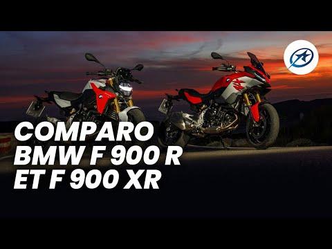 Comparo BMW F 900 R et F 900 XR (2020)