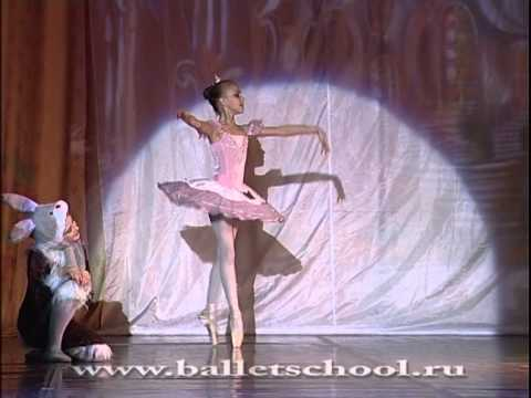 Nutcracker. Sugar Plum Fairy variation. Lada Sartakova (10 years age ballerina). October 21, 2012