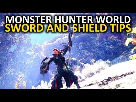 Monster Hunter World Sword and Shield Tips