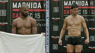 Bellator 213: Rafael Carvalho Misses, Lyoto Machida Makes Weight - MMA Fighting by MMA Fighting