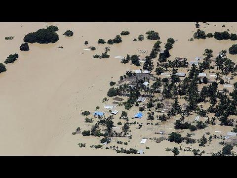 Θύματα και ζημιές λόγω βροχοπτώσεων σε Ινδία- Μιανμάρ