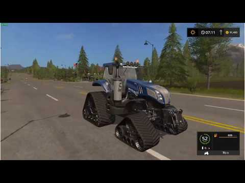 NH T8 Blue Power Crawler v1.0