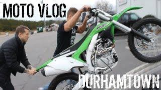 9. FIRST MOTO VLOG | PICKED UP A FRESHIE (2017 KX450) | DURHAMTOWN