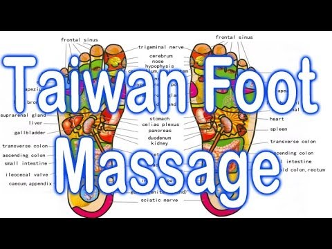 Foot Massages In Taiwan