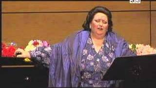 "Solo di Lauretta from Opera ""Gianni Schicchi"" (part of ""Trittico"") by Maestro Giacomo Puccini. Performed by Montserrat Caballe in ..."