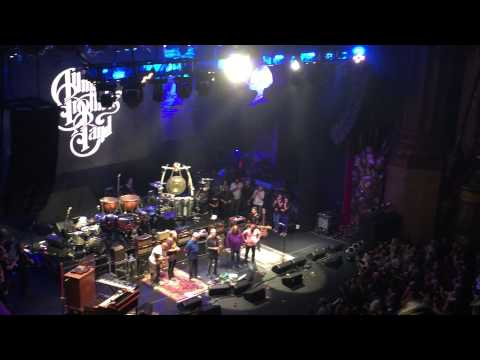brothers - The Allman Brothers Band Whipping Post end - Thank Yous - Trouble No More October 28th, 2014 Beacon Theater, NYC Set 1: 8:52-10:09 Set 2: 10:43-12:09 Set 3 + Encore: 12:18-1:26 (231 min ...