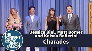 Video Charades with Jessica Biel, Matt Bomer and Kelsea Ballerini MP3, 3GP, MP4, WEBM, AVI, FLV Januari 2018
