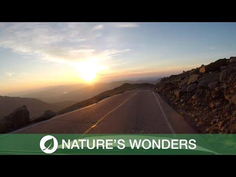 Most Beautiful Mountain Scenic Drive (видео)