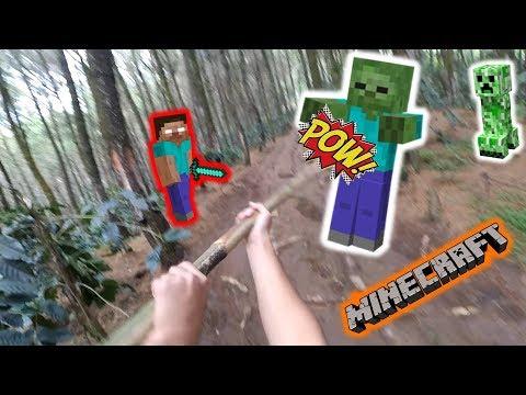 """Download Video """"NYASAR KE DUNIA NYATA"""" Noob Survival Minecraft Indonesia #100"""