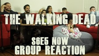 "The Walking Dead - S6E5 ""Now"" - Group Reaction"