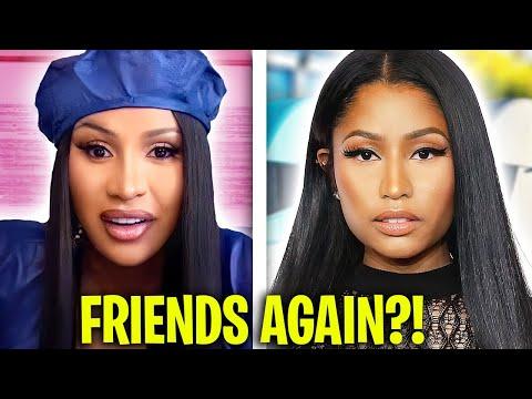 Cardi B Speaks Out On Nicki Minaj & Their New Friendship