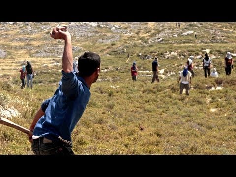 Palestinians - Watch the Guardian/Young Vic's short film Bed Trick here http://vid.io/xlK Jewish settlers attack Palestinians in the West Bank Subscribe to the Guardian HER...
