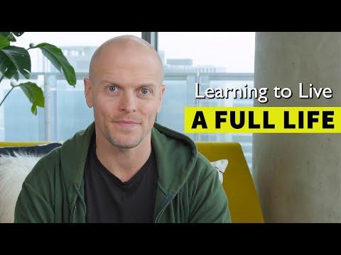 How to Live a Full Life: Integrating Productivity Creativity Self-Reflection | Ti… видео