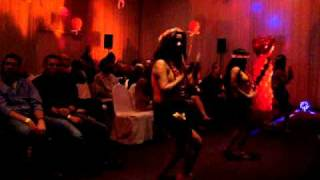 Girls Dancing On Runway At Sexy Lingerie Show Feb 12, 2011