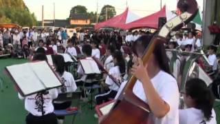 羽黒の夏祭り(8)吹奏楽・南部中