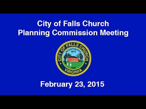 Planning Commission Meeting February 23, 2015