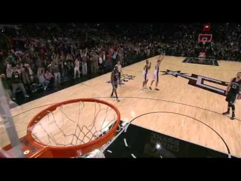friendly - Lee hits a corner three to put the Grizzlies up by two. Spurs get the ball to Duncan who gets the bounce to send the game into triple-OT About the NBA: The NBA is the premier professional...
