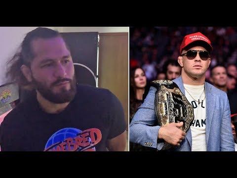 Jorge Masvidal Responds To Colby Covington's Comments