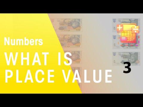 Mathematik - Was ist  'legen Wert '? - Die virtuelle Schule - Südafrika