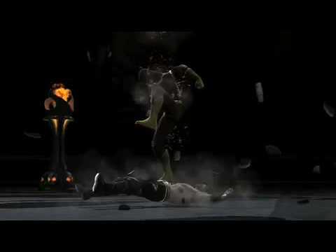 preview-Mortal Kombat vs DC Universe: Fatality Walkthrough Part 2 (RoosterTeeth)