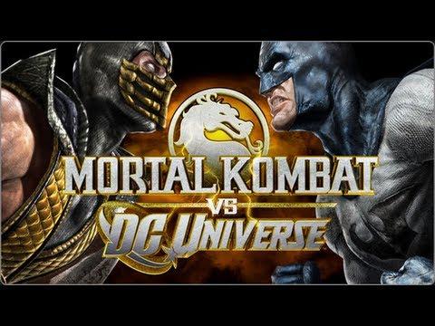 Mortal Kombat Vs. DC Universe ALL Cutscenes Movie