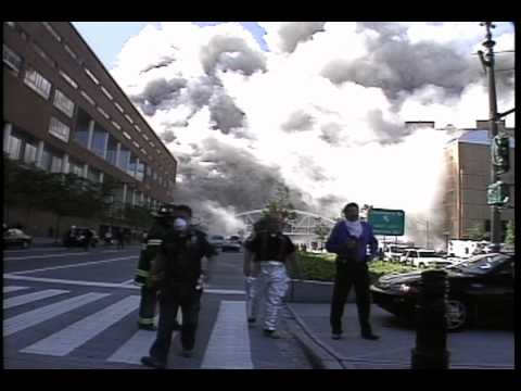 Raw CBS 9/11 WTC Footage