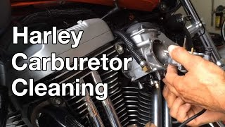 3. How To: Harley Davidson Sportster Carburetor Cleaning