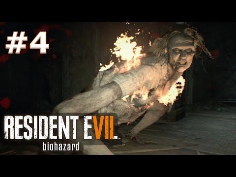 МАМУЛЯ. НЕ СМОТРИ ЕЙ ПОД ЮБКУ! #4 {Прохождение - Resident Evil 7: Biohazard}