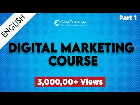 Digital Marketing Training  in Hyderabad  - Part 1