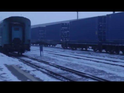 Поезд Украина-Китай на китайской границе - Центр транспортных стратегий