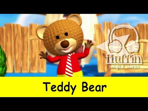 Teddy Bear - MP3 download iTunes: https://itunes.apple.com/us/artist/muffin-songs/id492247042 CD Baby: http://www.cdbaby.com/Artist/MuffinSongs https://www.facebook.com/m...
