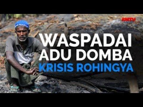 Waspadai Adu Domba Krisis Rohingya