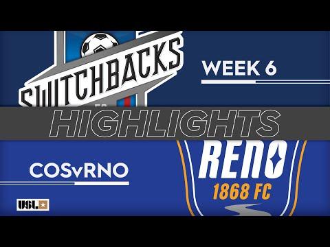 Колорадо Спрингс - Reno 0:2. Видеообзор матча 14.04.2019. Видео голов и опасных моментов игры