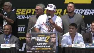Mayweather vs. Maidana 2 - Press Tour - Los Angeles - SHOWTIME