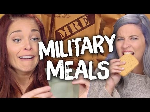 Eating MREs - Ready to Eat Meals! (Cheat Day)