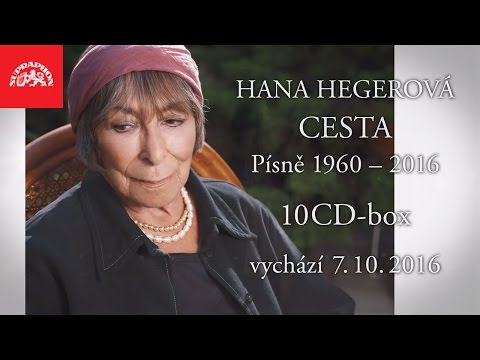 Legendární šansonierka Hana Hegerová dostane k narozeninám výpravný 10CD-box